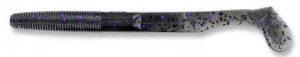 Gary yamamoto - swimsenko - 5 inch - 31-10-157 - Smoke Black with Purple Flake