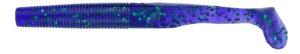 Gary yamamoto - swimsenko - 4 inch - 31S-10-213 - Junebug Purple with Emerald Green Flake