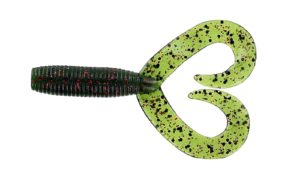 Gary yamamoto - jig trailer double tail - 5 inch - 16-20-208 - Watermelon Seed with Red Flake