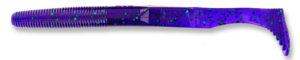 Gary yamamoto - swimsenko - 5 inch - 31-10-213 - Junebug Purple with Emerald Green Flake