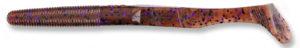 Gary yamamoto - swimsenko - 5 inch - 31-10-221 - Cinnamon Black with Purple Flake