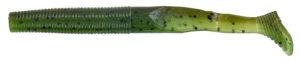 Gary yamamoto - swimsenko - 4 inch - 31S-10-912 - Laminate Two Tone Green Pumpkin Watermelon
