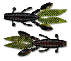 13_yamamoto_creature_bait_flappin_hog_45_inch_watermelonseed_melon_light_red_laminate_two_tone_fhl-05-955