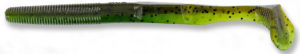 Gary yamamoto - swimsenko - 5 inch - 31-10-912 - Laminate Two Tone Green Pumpkin Watermelon