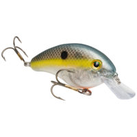 Strike king Lures - Crankbait Square Bill Pro Model Series 4S - 9/16oz - HC4S-500 - Clear Ghost Sexy Shad