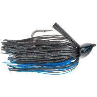 Strike king Lures - jigs - flipping Denny Brauer Structure Jig - 3/4oz - DBSTJ34-2 - Black Blue