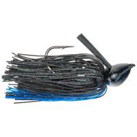 Strike king Lures - jigs - flipping Denny Brauer Structure Jig - 1oz - DBSTJ1-2 - Black Blue