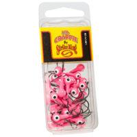 Strike king Lures - Crappie Jigheads Mr. Crappie Jig Heads 25 Pack - MRCJH25PK116-98 - Pink