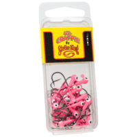Strike king Lures - Crappie Jigheads Mr. Crappie Jig Heads 25 Pack - MRCJH25PK132-98 - Pink
