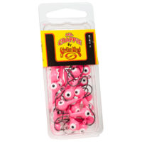 Strike king Lures - Crappie Jigheads Mr. Crappie Jig Heads 25 Pack - MRCJH25PK18-98 - Pink