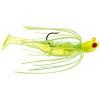 Strike king Lures - Crappie Jigheads Mr. Crappie Krappie Kicker Swim Jig - 1/8oz - MRCSJ18-192 - Electric Lime