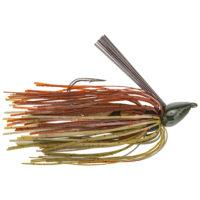 Strike king Lures - jigs - flipping Denny Brauer Baby Structure Jig - 1/4oz - DBBSTJ14-46 - Green Pumpkin