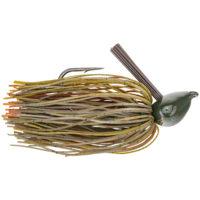 Strike king Lures - jigs - flipping Denny Brauer Structure Jig - 1oz - DBSTJ1-46 - Green Pumpkin
