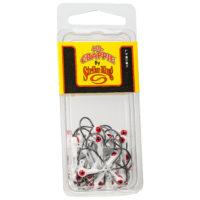 Strike king Lures - Crappie Jigheads Mr. Crappie Jig Heads 25 Pack - MRCJH25PK132-199 - Refrigerator White