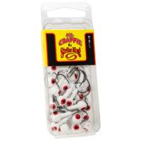 Strike king Lures - Crappie Jigheads Mr. Crappie Jig Heads 25 Pack - MRCJH25PK18-199 - Refrigerator White