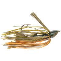 Strike king Lures - jigs - flipping Denny Brauer Baby Structure Jig - 1/4oz - DBBSTJ14-101 - Bama Craw