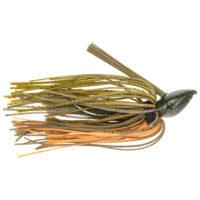 Strike king Lures - jigs - flipping Denny Brauer Baby Structure Jig - 3/8oz - DBBSTJ38-101 - Bama Craw