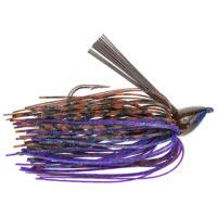Strike king Lures - jigs - flipping Denny Brauer Baby Structure Jig - 1/4oz - DBBSTJ14-233 - Peanut Butter Bug