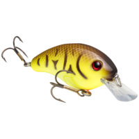 Strike king Lures - Crankbait Square Bill Pro Model Series 4S - 9/16oz - HC4S-562 - Chartreuse Belly Craw
