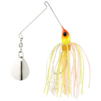 Strike king Lures - Crappie Spinnerbait Micro King Spinnerbait - 1/16oz - MC-112 - Sun Perch Head Sun Perch Skt