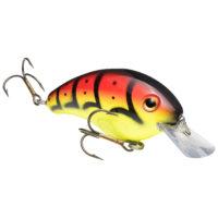 Strike king Lures - Crankbait Square Bill Pro Model Series 4S - 9/16oz - HC4S-569 - Green Tomato