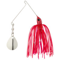 Strike king Lures - Crappie Spinnerbait Micro King Spinnerbait - 1/16oz - MC-69 - Red Head Red Skt