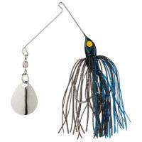 Strike king Lures - Crappie Spinnerbait Micro King Spinnerbait - 1/16oz - MC-76 - Black Blue
