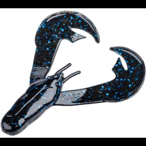 Strikeking - Soft Plastics Trailer Rage-Chunk - RGCHK-2-scaled - Black Blue Flake