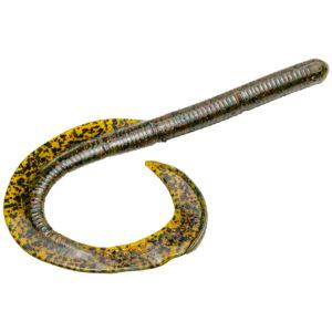 Strikeking - Soft Plastics - worm Rage Anaconda 7 inch - RGANA7-18 - Watermelon Red Blk