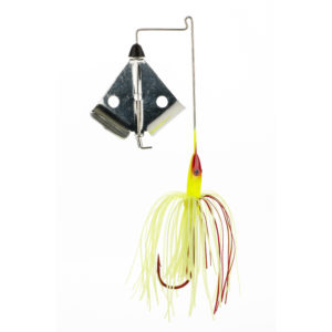 Strike king Lures - Topwater Buzzwait Bleeding Bait Elite Buzz Bait Bleeding - BBEB38-301 - Chartreuse