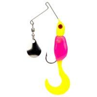 Strikeking - Saltwater Spinnerbait Mr. Crappie Spin Baby Spinnerbait - MRCSB18-242 - Hot Chicken.com