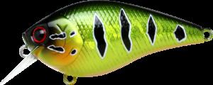 LuckyCraft - Crankbait-Square Bill - LC-1-5-297MGPC - Magma Peacock