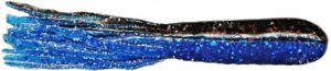 Mizmo Tubes - 4 Inch - Bad Boy Two Tone - MIZMO-LAMT-8PK-44282 - Two Tone Laminates Black Blue with Royal Sapphire Flake