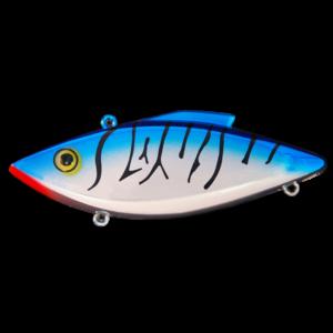 Rat-L-Trap - Crankbait Lipless Rattle Trap Walleye RT - RTW1 - CHROME BLUE BACK BLACK STRIPE