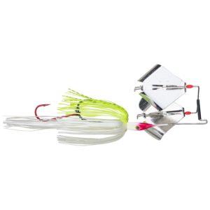 Strikeking - Topwater Buzzwait Premier Plus Buzzbait - PPLBD12-203 - Chartreuse White