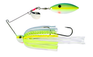 Strikeking - Spinnerbait Tour Grade Painted Blade SB - TGSB38CW-538P - Chartreuse Sexy Shad
