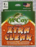MCCOY FISHING LINES - COPOLYMER - 30LB MCCOY-COPOLY-250-CLR-4LB - EXTRA CLEAR