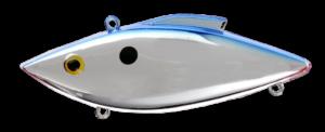 Rat-L-Trap - Crankbait Lipless Rattle Trap Mini MT - MT25B - CHROME BLUE BACK