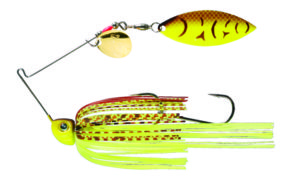 Strikeking - Spinnerbait Tour Grade Painted Blade SB - TGSB38CW-562P - Chartreuse Belly Craw