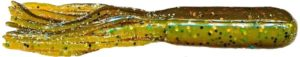 Mizmo Tubes - 4 Inch - Bad Boy Two Tone -MIZMO-LAMT-8PK-44287- Two Tone Laminates Green Pumpkin with Gold Flake Chartreuse Pepper