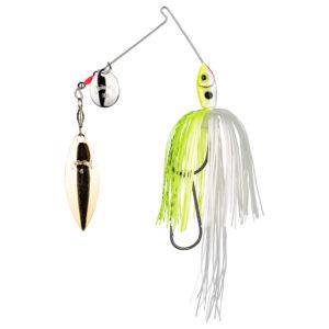 Strikeking - Spinnerbait Premier Plus Spinnerbait- PPL14CW-203SG -Chartreuse White