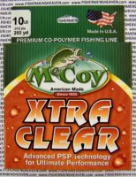 MCCOY FISHING LINES - COPOLYMER - 30LB MCCOY-COPOLY-250-CLR-10LB - EXTRA CLEAR