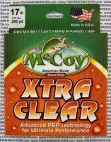 MCCOY FISHING LINES - COPOLYMER - 30LB MCCOY-COPOLY-250-CLR-17LB - EXTRA CLEAR