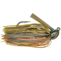 Strikeking - jigs flipping Hack Attack Heavy Cover Jig - HAHCJ12-101 - Bama Craw