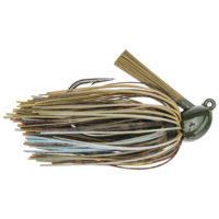 Strikeking - jigs flipping Hack Attack Heavy Cover Jig - HAHCJ12-108 - Blue Craw