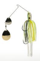 Strikeking - Spinnerbait Premier Plus Spinnerbait - PPL38CC-538SG -Chartreuse Sexy Shad