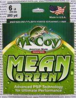 MCCOY FISHING LINES - COPOLYMER - MCCOY-COPOLY-250-GRN-6LB - MEAN GREEN