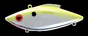 Rat-L-Trap - Crankbait Lipless Rattle Trap Mini MT - MT308 - CHARTREUSE FLASH