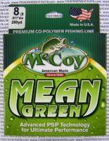 MCCOY FISHING LINES - COPOLYMER - MCCOY-COPOLY-250-GRN-8LB - MEAN GREEN