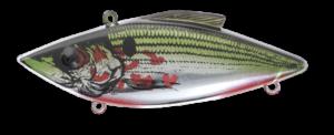 Rat-L-Trap - Crankbait Lipless Rattle Trap Mini MT - MT370 - CHROME BLEEDING SHAD